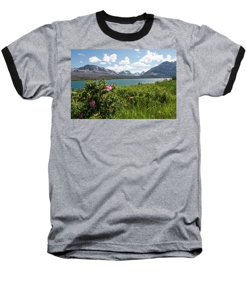 East Glacier National Park Baseball T-Shirt