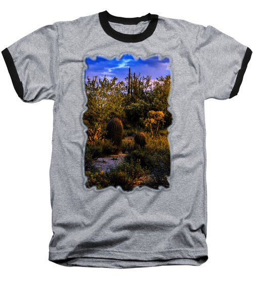 East Of Sunset V40 Baseball T-Shirt by Mark Myhaver
