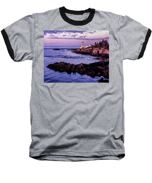 East Quoddy Head, Canada Baseball T-Shirt