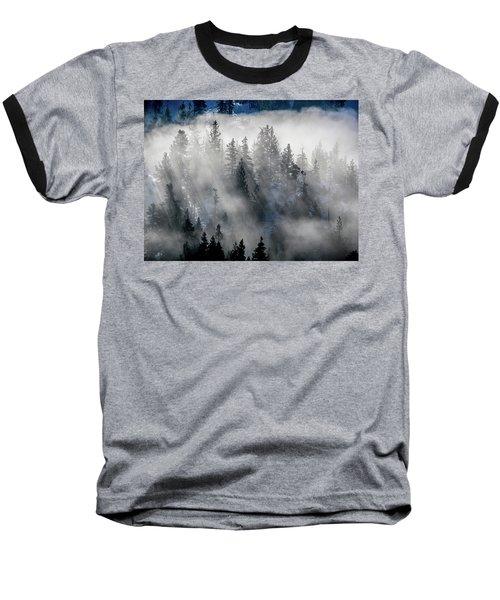 East Shore Inversion, Lake Tahoe Baseball T-Shirt