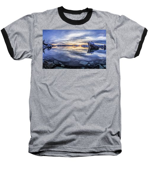 East Shore Sunset Baseball T-Shirt