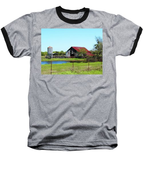East Texas Barn Baseball T-Shirt