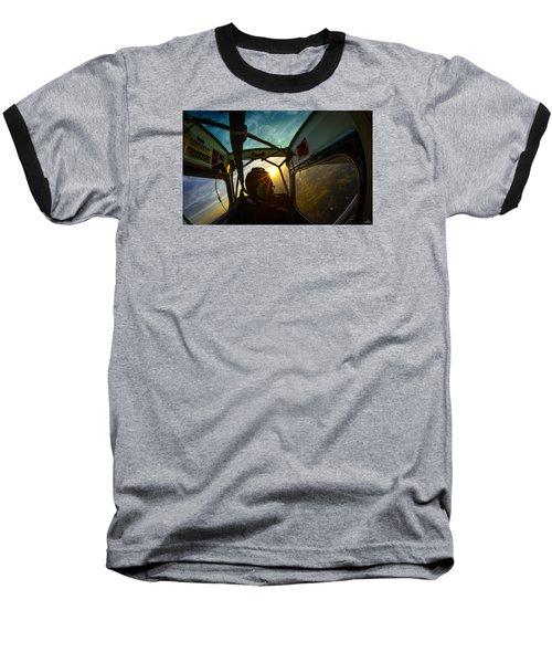 East Towards The Dawn Baseball T-Shirt