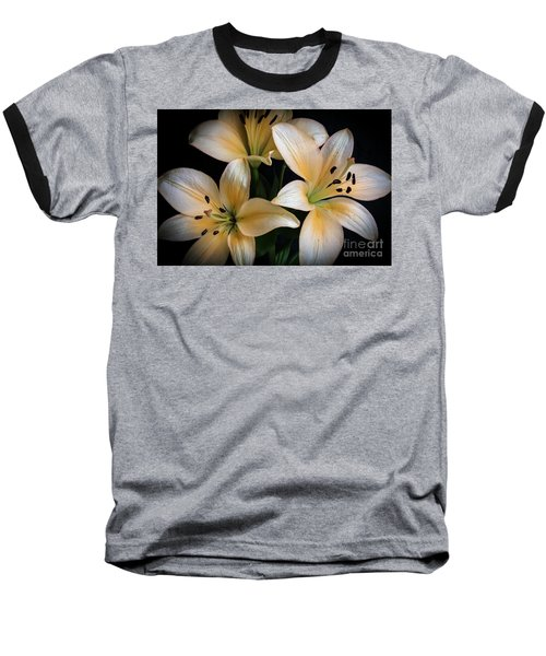 Easter Lilies  Baseball T-Shirt