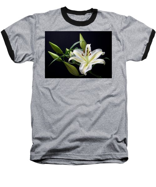 Easter Lily 3 Baseball T-Shirt