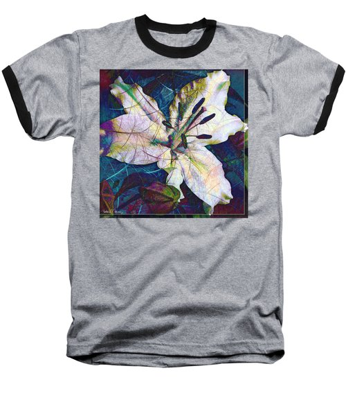 Easter Lily Baseball T-Shirt