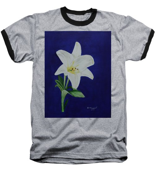 Easter Lily Baseball T-Shirt