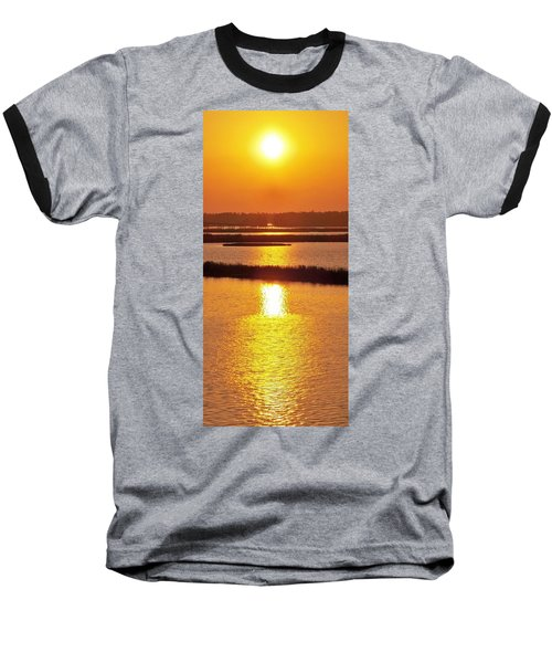 Baseball T-Shirt featuring the photograph Easter Sunset Southwest Louisiana by John Glass