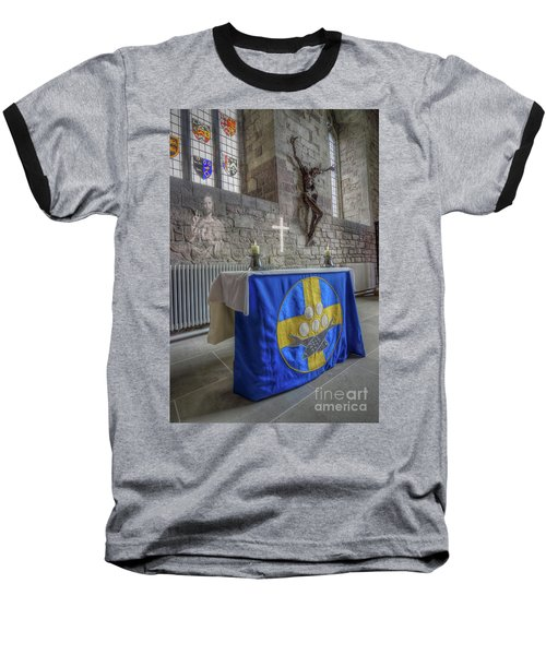Baseball T-Shirt featuring the photograph Easter  The Resurrection Of Jesus by Ian Mitchell