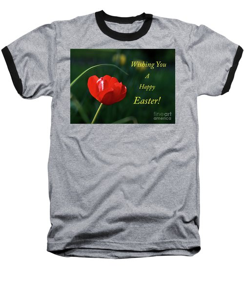 Baseball T-Shirt featuring the photograph Easter Tulip by Douglas Stucky