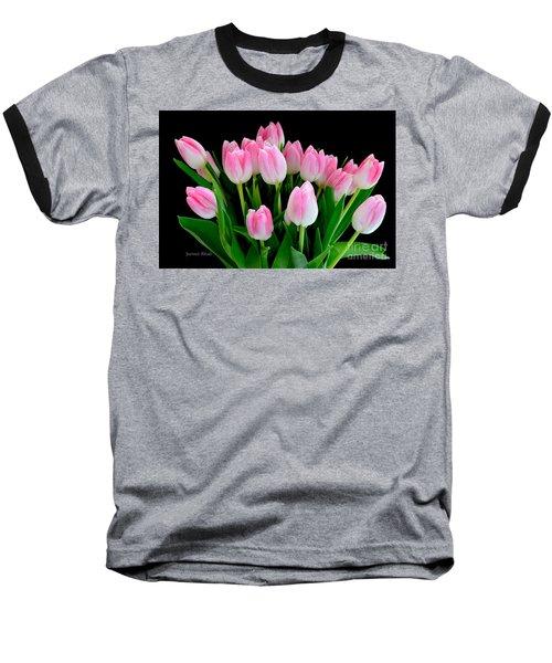 Easter Tulips  Baseball T-Shirt