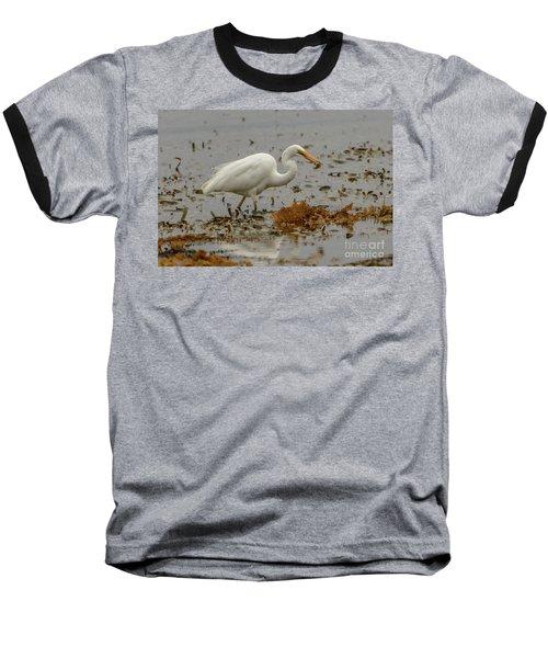 Eastern Great Egret 10 Baseball T-Shirt