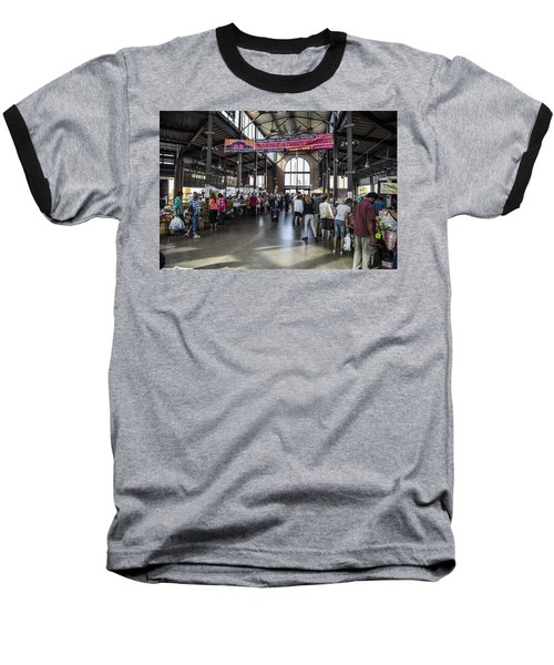 Eastern Market Detroit Saturday  Baseball T-Shirt