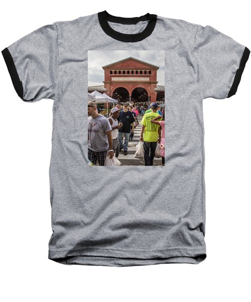 Eastern Market Summer Detroit  Baseball T-Shirt