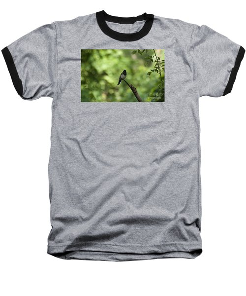 Baseball T-Shirt featuring the photograph Eastern Towhee 20120707_52a by Tina Hopkins