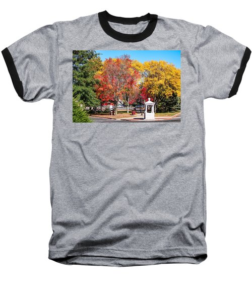 Easthampton Center In The Fall Baseball T-Shirt