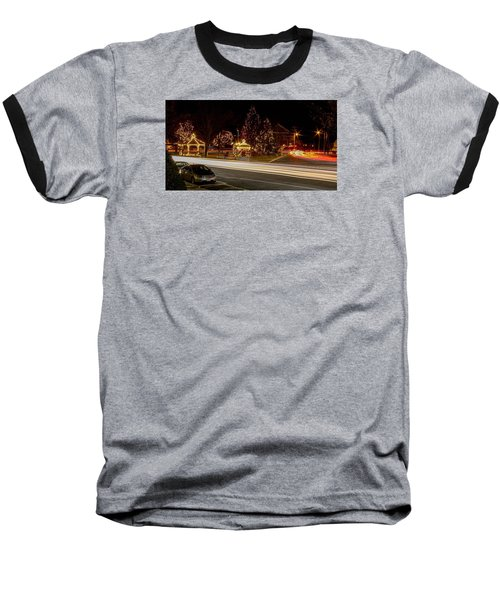 Easthampton Light Trails Baseball T-Shirt