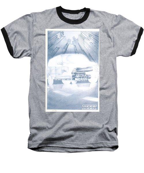 Eaton Electric Van Baseball T-Shirt