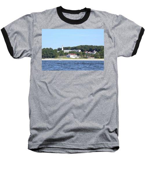 Eatons Neck Lighthouse Baseball T-Shirt