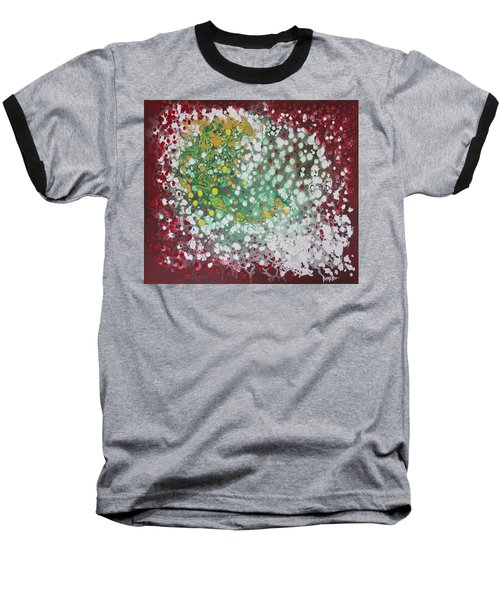 Ebola Contained Baseball T-Shirt