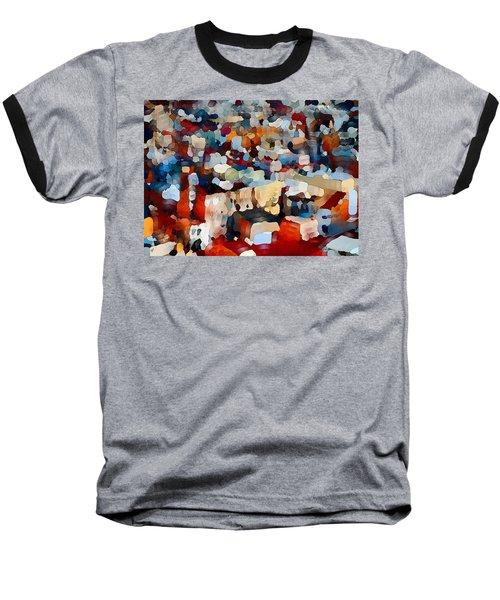 Echoes Of Civilization  Baseball T-Shirt