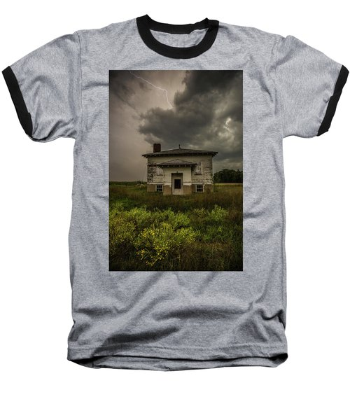 Baseball T-Shirt featuring the photograph Eclipse Apocalypse by Aaron J Groen