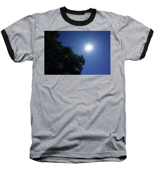 Eclipse Light Prism Baseball T-Shirt