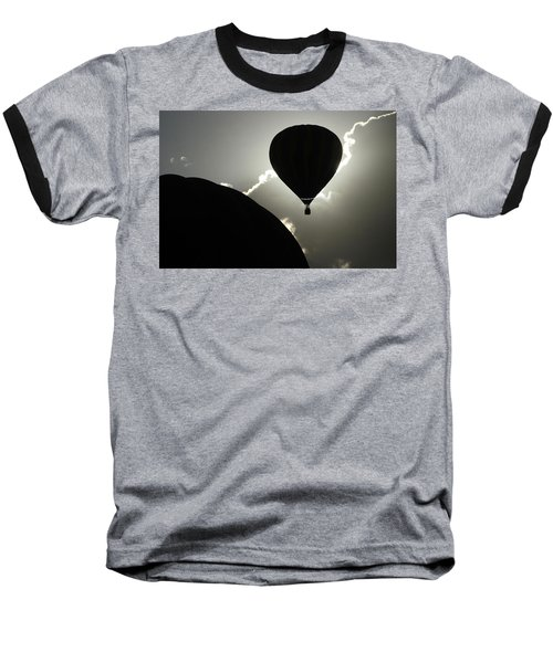 Eclipse Baseball T-Shirt by Marie Leslie