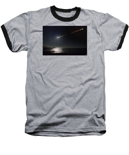 Eclipse Of The Moon Baseball T-Shirt