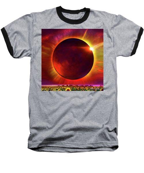 Eclipse Of The Sunflower Baseball T-Shirt