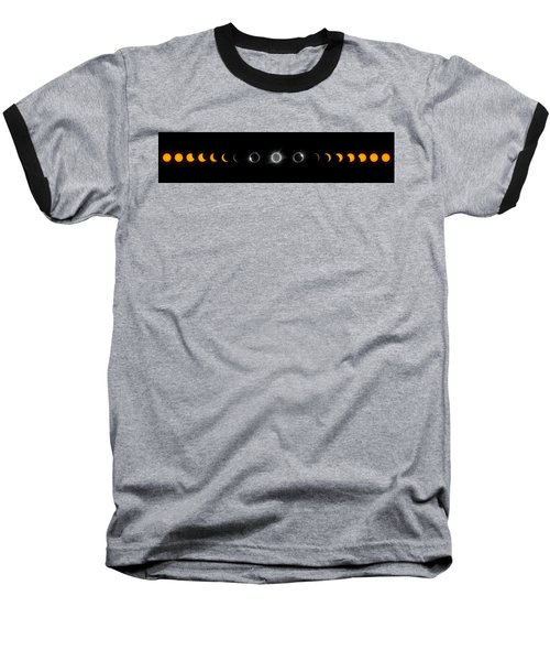 Eclipse Progression Baseball T-Shirt