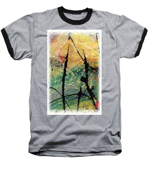 Baseball T-Shirt featuring the painting Ecstasy II by Angela L Walker