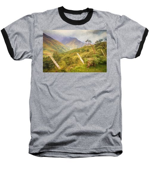 Ecuadorian Mountain Forest Baseball T-Shirt
