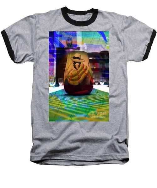Baseball T-Shirt featuring the photograph Ecuadorian Vase Art by Al Bourassa