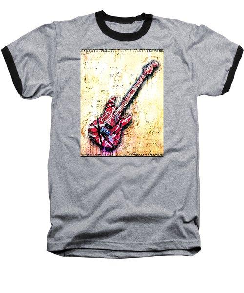 Eddie's Guitar Variation 07 Baseball T-Shirt