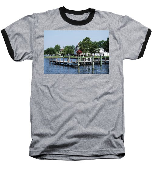 Edenton Waterfront Baseball T-Shirt