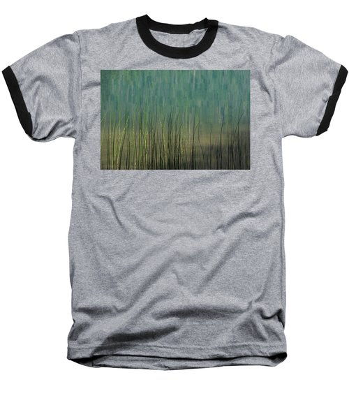 Edge Of The Lake - 365-262 Baseball T-Shirt by Inge Riis McDonald