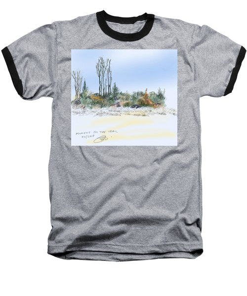 Edge Of The Okefenokee Baseball T-Shirt