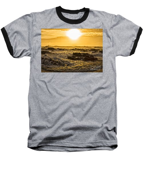 Edge Of The World Baseball T-Shirt