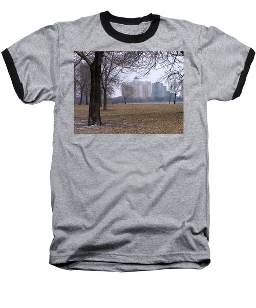 Edgewater Beach Apartments Baseball T-Shirt