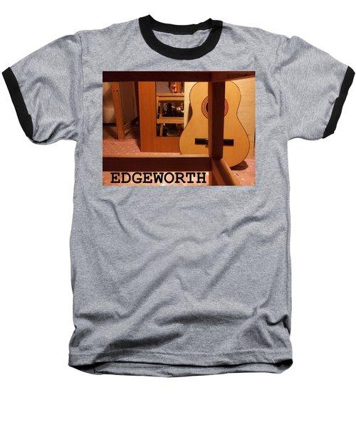 Edgeworth Acoustic Guitar Baseball T-Shirt