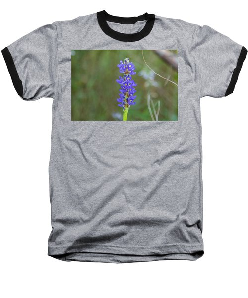 Edible Pickerel Weed Baseball T-Shirt by Christopher L Thomley