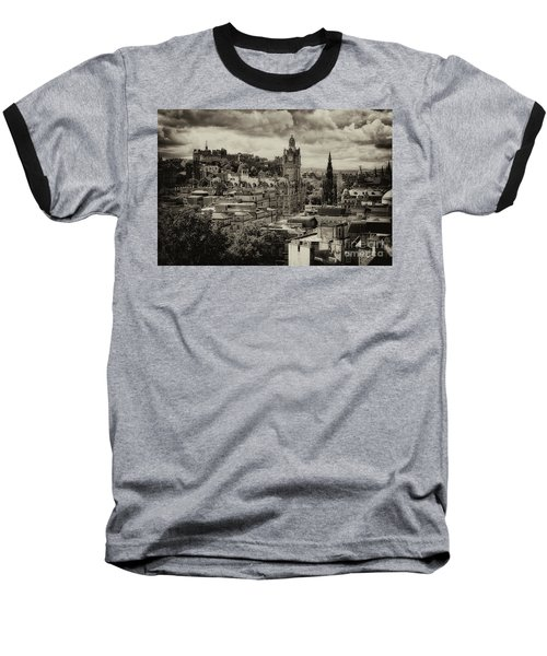Baseball T-Shirt featuring the photograph Edinburgh In Scotland by Jeremy Lavender Photography