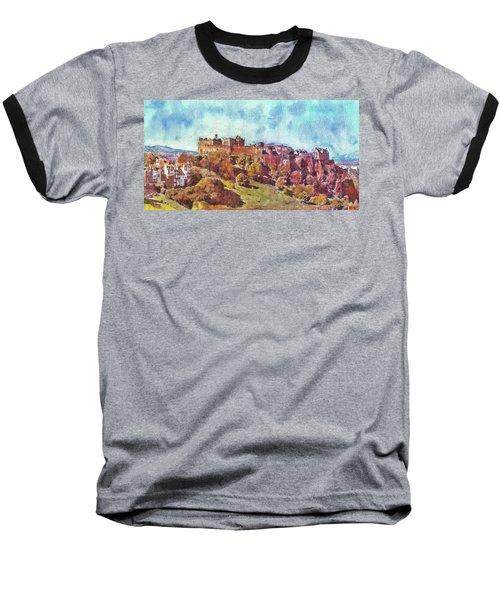 Edinburgh Skyline No 1 Baseball T-Shirt
