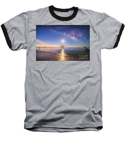 Edisto Island Milky Way Baseball T-Shirt