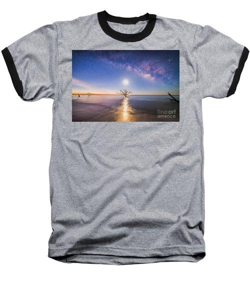 Edisto Island Milky Way Baseball T-Shirt