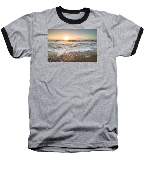 Baseball T-Shirt featuring the photograph Edisto Island Sunrise by Serge Skiba