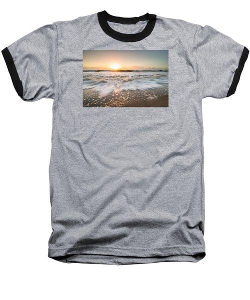 Edisto Island Sunrise Baseball T-Shirt