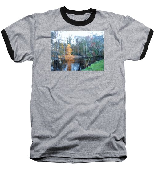 Baseball T-Shirt featuring the photograph Edisto River by Kay Gilley