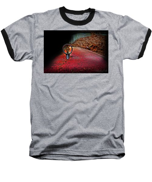 Edsel Emblem Baseball T-Shirt